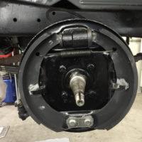Vordere bremse hat abgestufte Bremszylinder