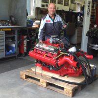 Titelbild AMC 327 Bootsmotor