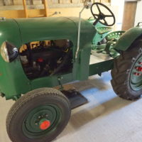 Traktor Willi Buehrer Lohn 1951