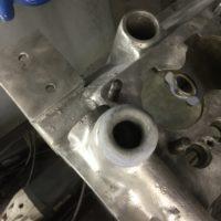 Wasseranschluss neu geformt