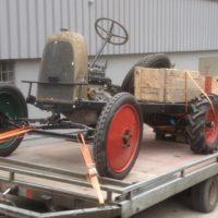 Fiat 502 Autotraktor 1927 Abtransport