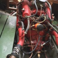 Motor AMC von Gray Marine eingebaut und viele Jahre gestanden