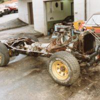 Ein 10 jaehriger Jeep diente als Basis die Saentis Garage in Buehler baute eine zu 90 neue Carosserie auf