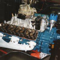 Diverse Aarbeiten waren auch am Motor noetig