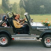 Diesen Jeep hatten wir sehr viel im Einsatz. Leider haben wir ihn verkauft