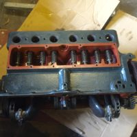 gekaufter Ford A Rumpfmotor aus alter Revision