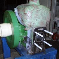 Kolben Zylinder Kurbelwelle montiert