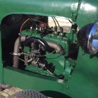 fertig eingebauter Motor