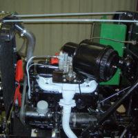 Motor eingebaut und bald bereit für den ersten Test.