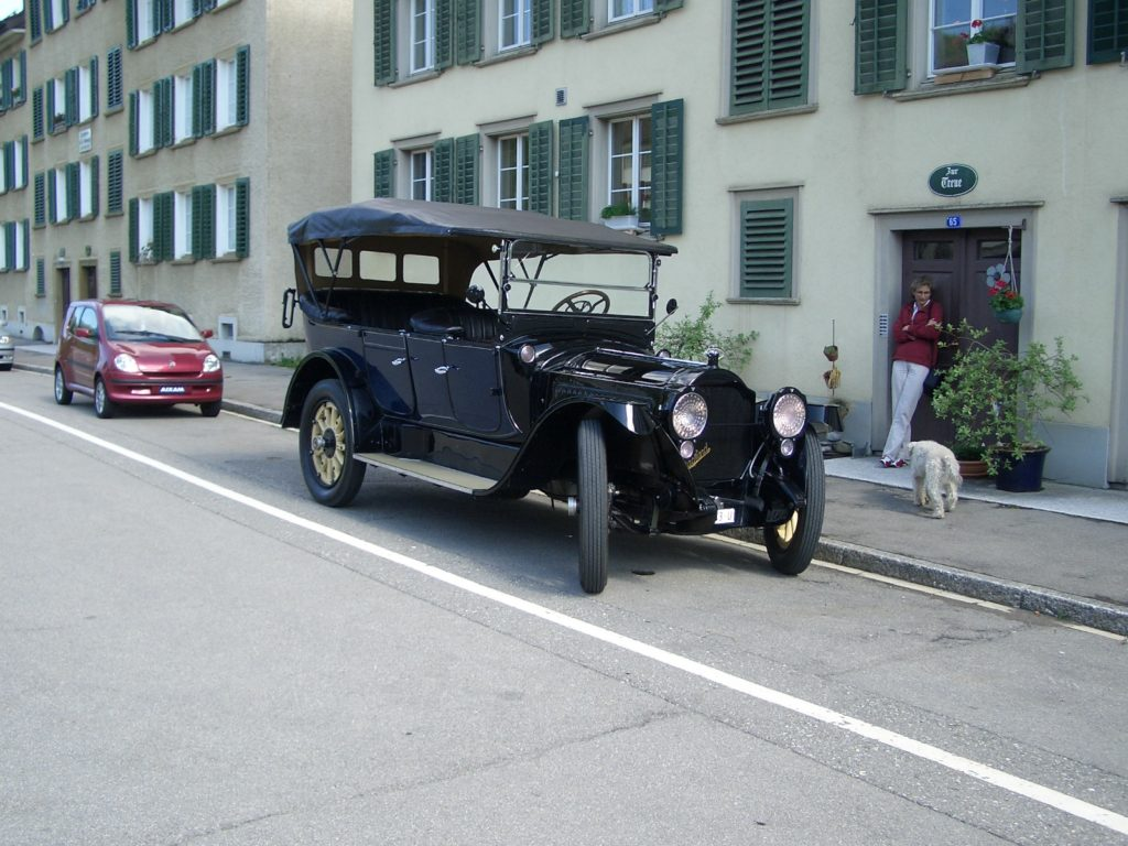 Packard twin six 1917