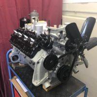 fertig zusammengebauter Motor