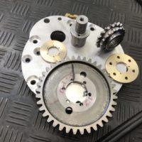 Komponenten für Nebenantrieb