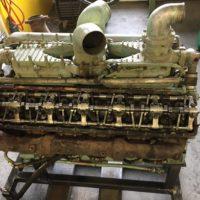 Oeldruck aufgebaut und Motor gedreht